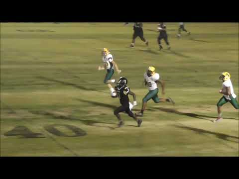 T.J. Colom Highlights Falkner High School vs H.W. Byers 9-14-18  MS High School 95 Yard record rec.