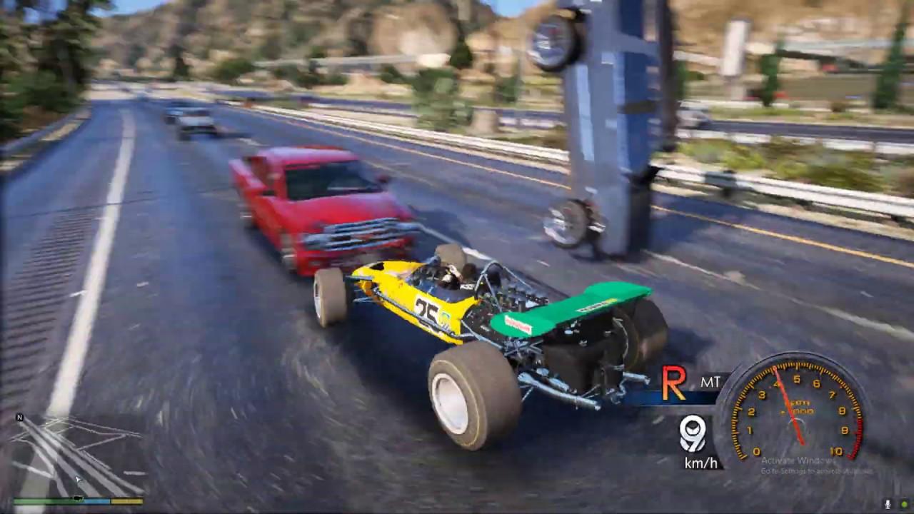 GTA 5 Siêu Xe Đua F1 Tốc Độ Tăng Tốc Bàn Thờ Độ 400 Mã Lực Chạy Ngoài Cao Tốc Như Tên Bắn …