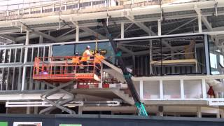 Wrightstyle Installing at Queen Street Cardiff Station