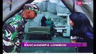 Melihat Rumah Sakit Lapangan untuk Korban Gempa Lombok yang Didirikan TNI - iNews Sore 21/08