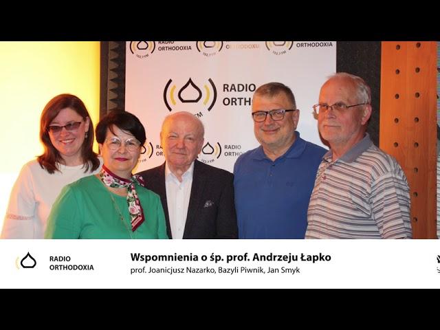 Zwyczajni - niezwyczajni. Odc. 5 - Wspomnienia o śp. prof. Andrzeju Łapko