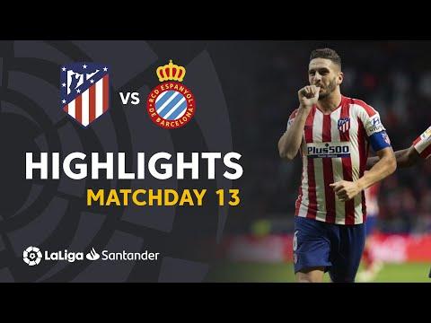 Highlights Atletico De Madrid Vs RCD Espanyol (3-1)