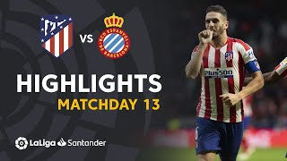Highlights Atletico de Madrid vs RCD Espanyol (3-1)