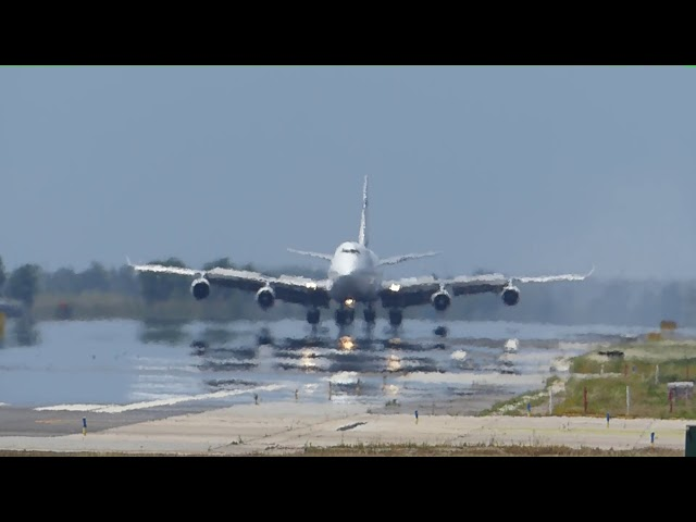 Calor sahariana a l'aeroport del Prat - Juny 2018