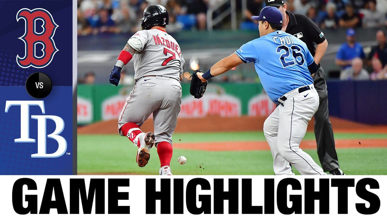 Download Red Sox vs. Rays Game Highlights (8/1/21) | MLB Highlights