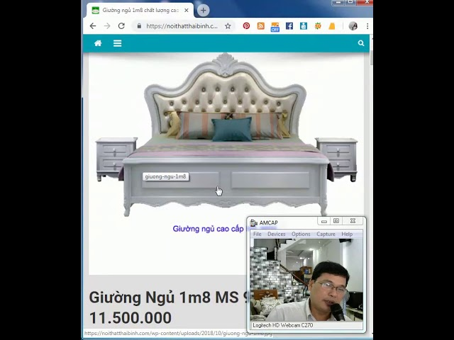 Giường Ngủ cao cấp 1m8 MS 9655 - Giao hàng tận nơi