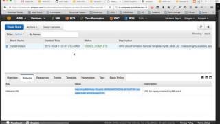 متعدد أريزونا VPC النشر مع سحابة تشكيل قالب & أوس CLI
