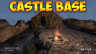 WAR IS COMING DayZ Xbox One Gameplay Castle Base Build - Server Wide War