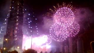 2013 fair works in burj khalifa..Dubai happy new year 2013....baris pengad