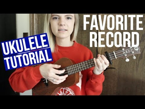 Favorite Record - Fall Out Boy | EASY UKULELE TUTORIAL
