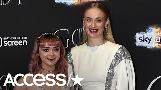 Sophie Turner's Filthy Response To Maisie Williams' 'Game Of Thrones' Sex Scene Cannot Be Missed