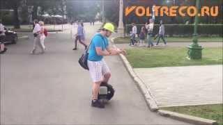 Прыжки на Моноколесе! Обучение прыжкам! Вольтрэко Voltreco.ru