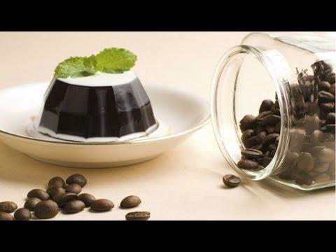 Receitas com Café - Gelatina de Café