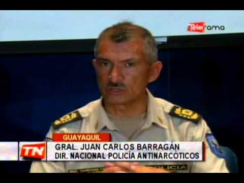 Más de 2 toneladas de droga decomisada y varios detenidos