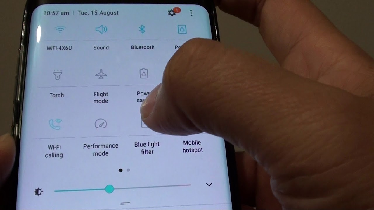 Samsung Galaxy S8: How to Turn On Night Shift Mode