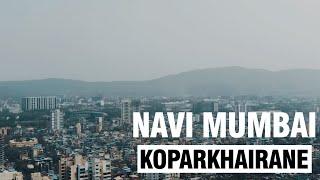 Navi Mumbai Drone View Koparkhairane || Navi Mumbai Guruji