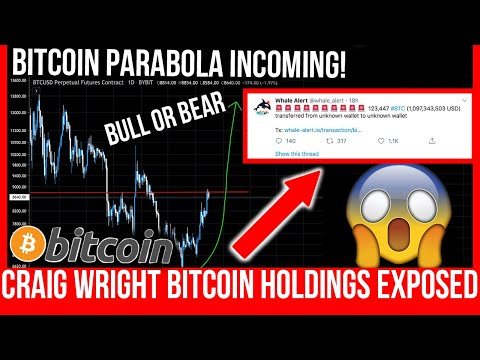 HUGE BITCOIN VOLATILITY INCOMING! Craig Wright Exposes His Bitcoin Holdings!
