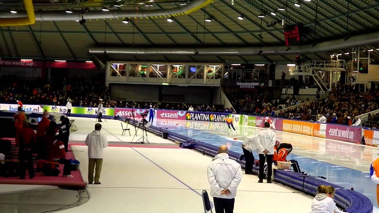 Kjeld Nuis @World Cup schaatsen Heerenveen