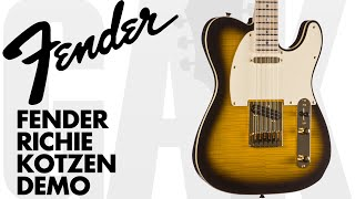 Fender Richie Kotzen Telecaster Fender Richie Kotzen Demo Review