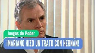 #JuegosDePoder - ¡Mariano hizo un trato con Hernán! - Momentos Destacados / Capítulo 135