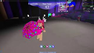 roblox - dance your blox off - name of love - duo with PrettyLizzieBackup - freestyle