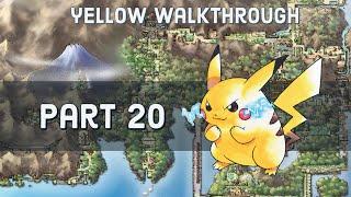 Pokemon Yellow Walkthru - Part 20 - Finding Articuno/Seafoam Islands