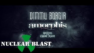 DIMMU BORGIR - European Tour 2020 With AMORPHIS (OFFICIAL TOUR TRAILER)