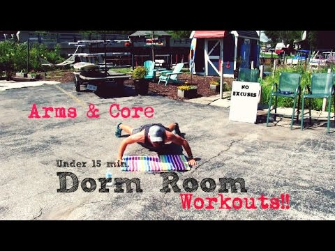 Dorm Room Workouts - Arms & Core