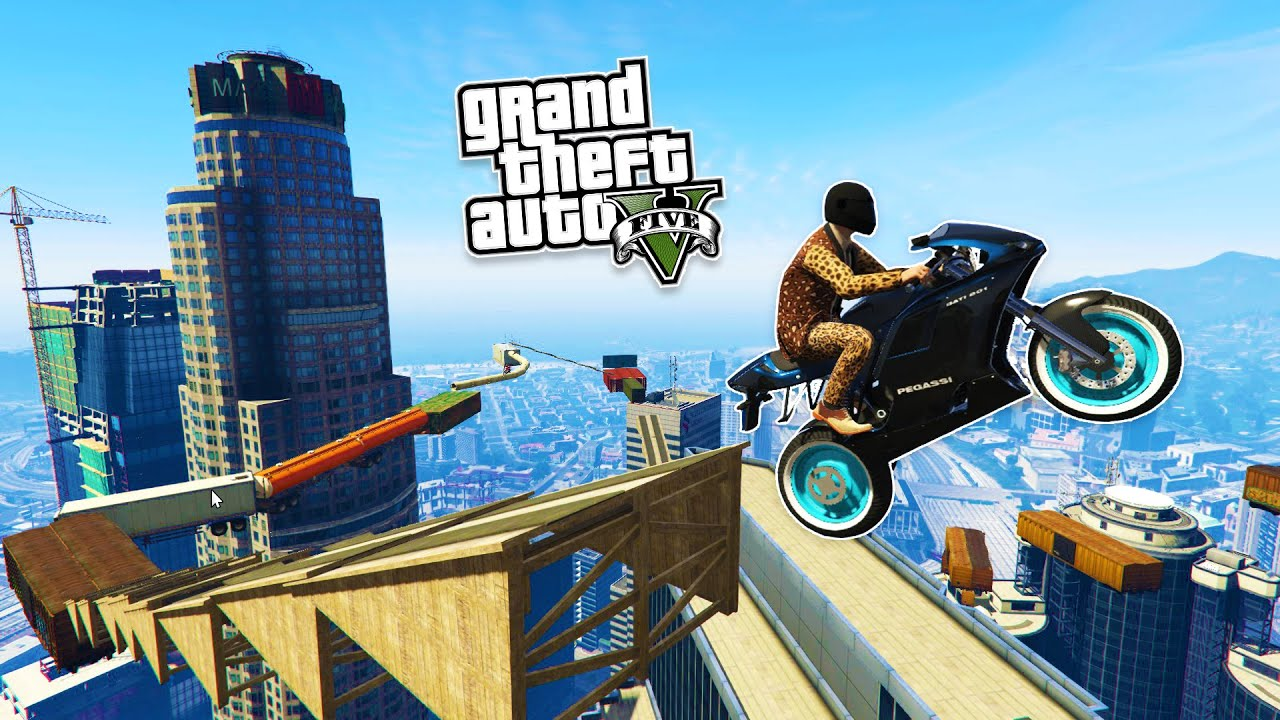 How in GTA (GTA) do parkour 44