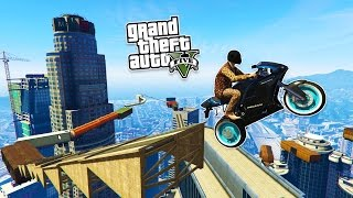 GTA 5 Stunts & EPIC Bike Parkour Races! GTA 5 PC Open Lobby! (GTA 5 PC Gameplay Online)(GTA 5 stunts and parkour races in GTA Online! GTA 5 funny moments livestream with the Stream Team! Epic GTA 5 jumps! :) ▻ Help Me Reach 1500000 ..., 2015-05-07T03:40:56.000Z)