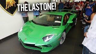 SHE bought the LAST Lamborghini SV EVER?
