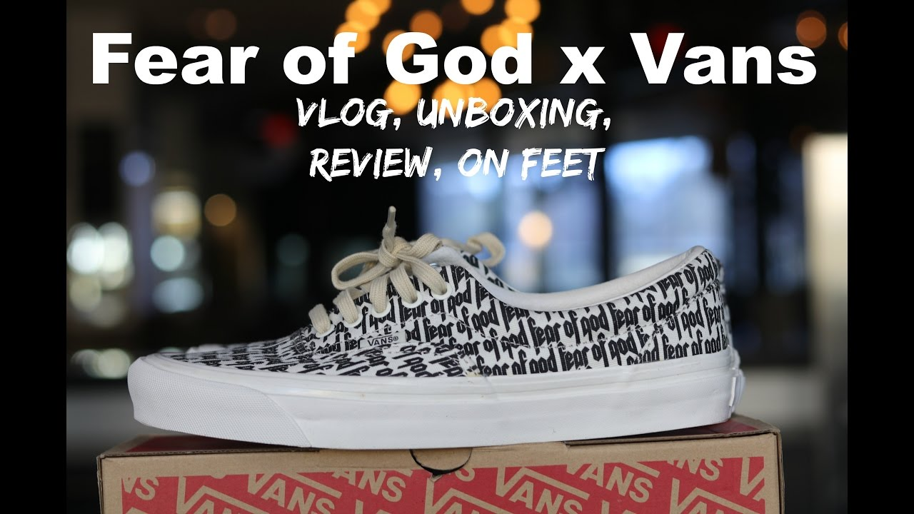 884ac4c51af3 STAYING OVERNIGHT FOR THE Fear of God FOG x Vans Collab... CRAZINESS -  YouTube