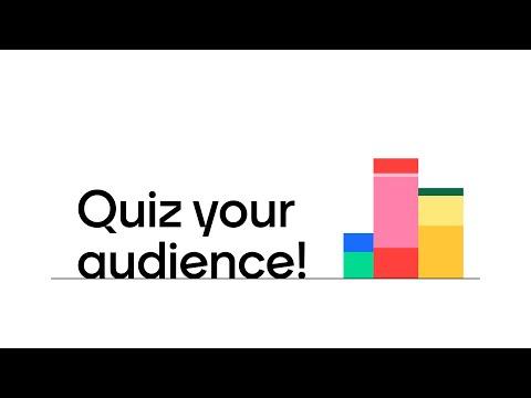 Create an Interactive Mentimeter Quiz