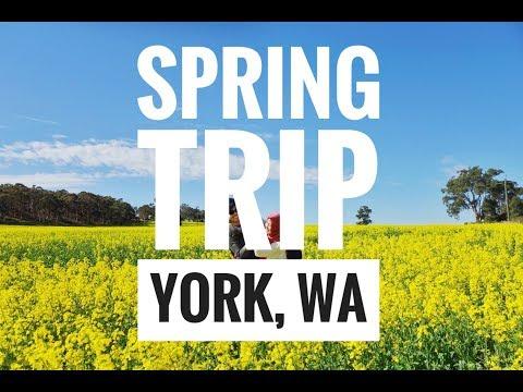 Spring Trip: York, Western Australia