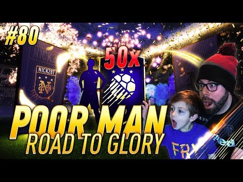 LUCKIEST TOTY PACK OPENING WITH MY SON!!!! - Poor Man RTG #80 - FIFA 18 Ultimate Team