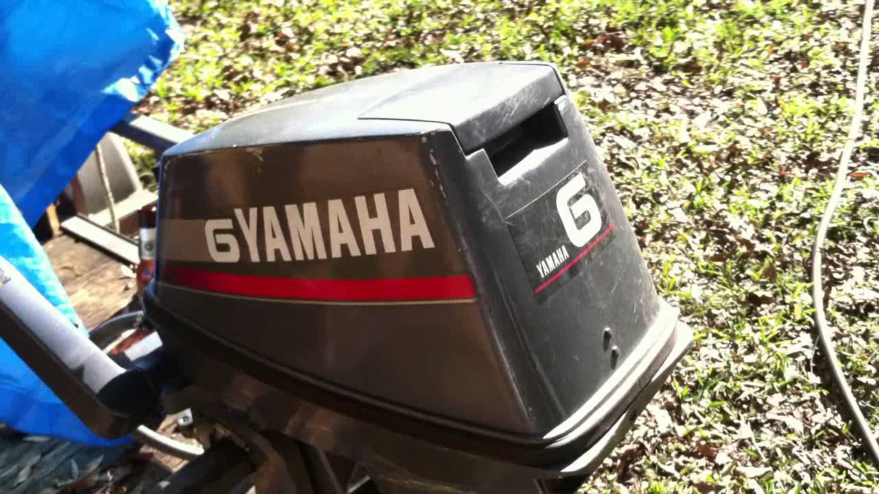 Yamaha 6hp 2-stroke for sale (part 1)