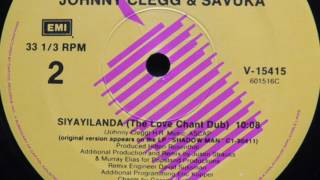 Johnny Clegg Savuka ‎ Siyayilanda The Love Chant Dub