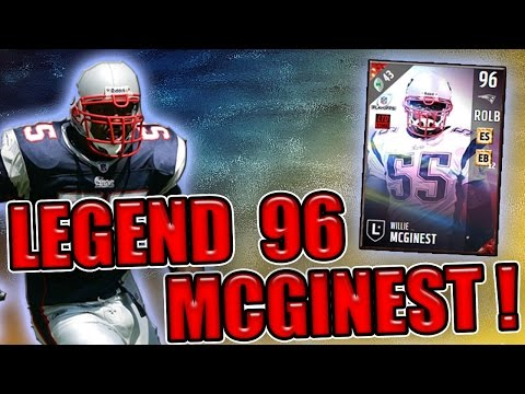 CAN 96 OVR LEGEND WILLIE MCGINEST EARN A SPOT ON MY DEFENSE? - MADDEN NFL 17 ULTIMATE TEAM