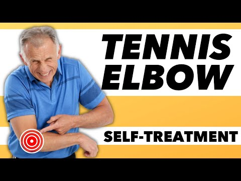 "An effective self-treatment for ""Tennis Elbow""."
