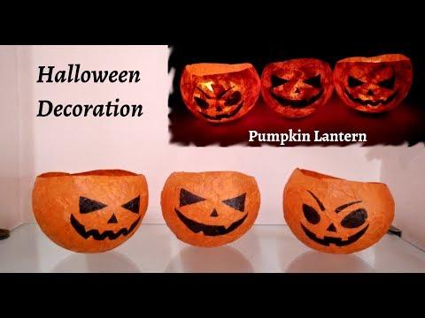 Halloween Paper Crafts | Halloween Paper Pumpkin Crafts | Halloween Crafts | DIY Halloween