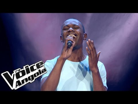 """Linford Gaspar - """"Me desculpa"""" / The Voice Angola 2015: Audição Cega"""