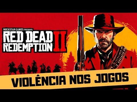 GAMES ESTIMULAM A AGRESSIVIDADE?  - RED DEAD REDEMPTION 2 E GTA 5 thumbnail