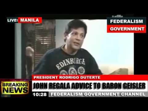 John Regala Gives Ultimatum Advice to Baron Geisler
