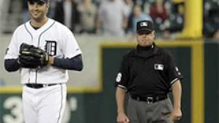 Armando Galarraga Perfect Game Blown - Jim Joyce Blows Call