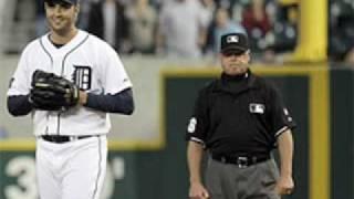 Armando Galarraga Perfect Game Blown - Jim Joyce Blows Call