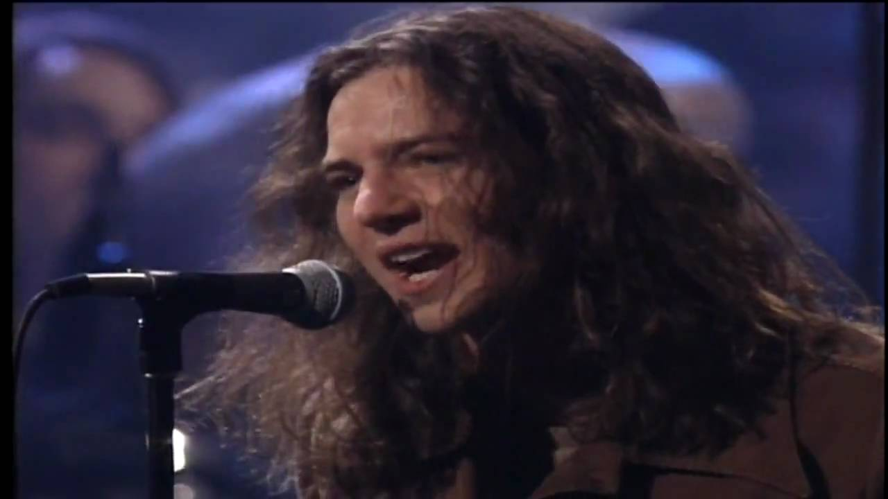 Pearl jam even flow unplugged