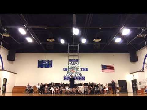 East Burke Middle School Band 5.8.18 part 2