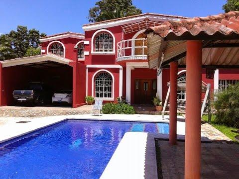 SE VENDE Hermosa Casa Con Piscina En Ciudad Arce La Libertad | Compra Renta Venta El Salvador