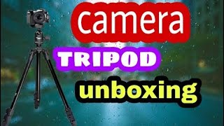 Best new no 1 camera tripod unboxing and review