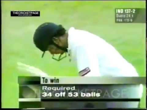 20 year old Sachin Tendulkar Vs Waqar Younis at Toronto 1996(6 6 4 4 4 ) - YouTube